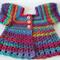 Crocheted Bella Rebekah Cardigan. Size 4-5