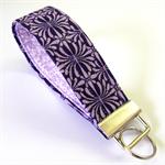 Wrist Key Fob - 50 Shades of Purple.