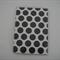 Vinyl Passport Cover Case Holder - Black Dots on White