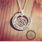 Tree Of Life - Small Hand Stamped Sterling Silver Pendant/ Jewellery/ Necklace