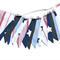 BOYS Denim Navy Blue, STARS & Stripes  Flag Bunting. Party, Banner Decoration