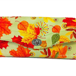 Necessary Clutch Purse/Wallet - Autumn Leaves