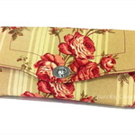 Necessary Clutch Purse/Wallet - Roses