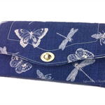 Necessary Clutch Purse/Wallet - Butterflies and Dragonflies
