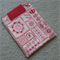 Kindle Cover - Summerville - Red / Cream