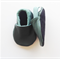 Green Leather Baby Shoes