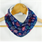 GEMS Cotton Bandana bib Absorbent with STAY-DRY backing