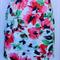 ladies skirt  size 14-16 jade navy pastel blue, peach rose