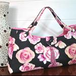 """Ava"" - pink rose bag"