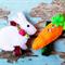 Bunny & Carrot Hair Clip Set