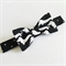 Bow Tie - Dachshunds - Black - White