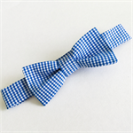 Bow Tie - Gingham - Blue - White - Boys