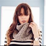 Silver grey crochet cowl wool alpaca handmade winter cowls women's accessories