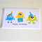 Monster Party Birthday Card | Monsters| Birthday Cards For Boys|KIDS002