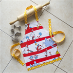 Kids/Toddlers Apron Dr Seuss - lined kitchen/craft/play apron - cute Dr Seuss