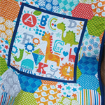 Baby quilt, bassinet, stroller, pram, tummy time, daycare -  jungle animals