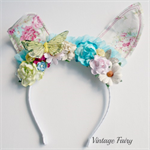 jemima bunny ears White floral