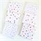 Confetti Coasters - 6 Ceramic Tile Drink Coasters Pink Aqua Yellow Gold Glitter
