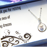 Mother Of The Groom Gift - Gift Boxed Jewellery Thank You Gift