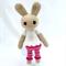Becky Bunny, Amigurumi rabbit, crochet Toy, softie, doll, gift.