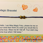 Charm wish bracelet with gift cards