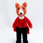 Ferguson Fox Crochet Toys, amigurumi, plush, gift.