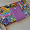 DC Comic Wonder Women Nappy Wallet with New adjustable closure and Strap