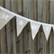"""BURLAP & LACE"" Personalised Wedding Bunting by Arti Mardi"