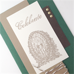 Masculine Birthday Card - Vintage Green