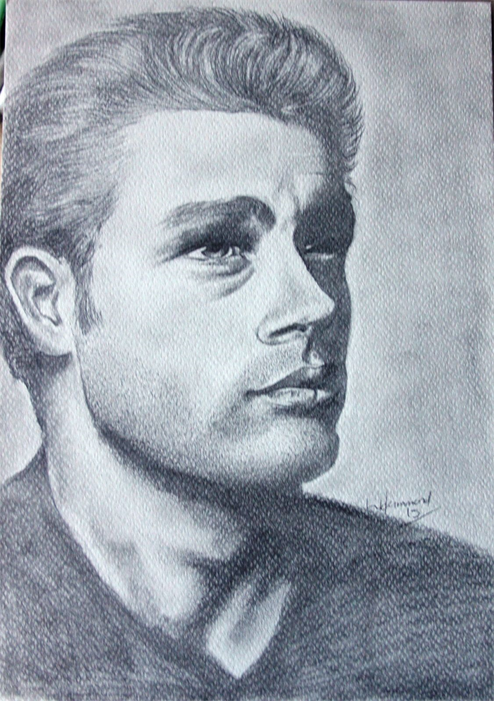 Astonishing Male Side Profile Drawing In Pencil A4 Acid Free Paper Jinty And Short Hairstyles Gunalazisus