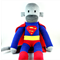 'Superman' the Sock Monkey (Superhero) - *MADE TO ORDER*