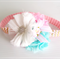 Baby Flower Headband Candy Colors Flower Trio Girl Photo Prop Matches Easter Bu