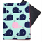 Pink and Blue Whales Passport Cover/Holder