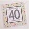 Age Birthday Card - sequins - you choose the number!