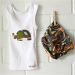 jungle monkey | nappy cover | baby boy bloomers