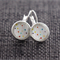 Coloured Dots and Stripes~ Lever Back Earrings