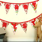 Merry Christmas Bunting by Arti Mardi