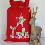 Personalised Christmas Santa Sack by Arti Mardi