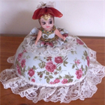 """Special Edition Pincushion """"Miss Petite"""" 1 off design"""