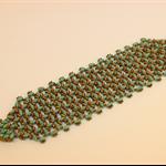Green bronze bracelet.