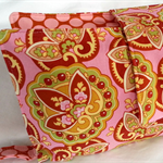 Nappy Wallet - Amy Butler Coral Paisley - Girls - Medium