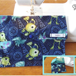 Monsters Inc. Nappy Wallet