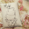 Teacups Organic Wheat Bag - Art by Rondelle Douglas
