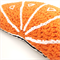 Crochet Orange Cushion