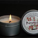 Boronia Floral Fragrant oil 40 hour soy wax candle