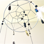 Dreamy Night: dream catcher mobile