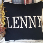 Personalised Name Cushion Cover/Pillow