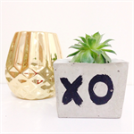 Concrete/Cement Plant Pot Handmade Homewares Decor Boho XO