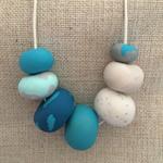 'Ocean Princess' Polymer Clay Necklace