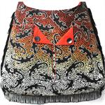 """""""Jindi"""" - fringed aboriginal print bag"""